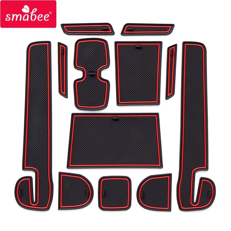 Smabee Tor slot pad Für SUZUKI SWIFT (ZC33S/13 s/53 s/C83S) japan in südost Asi Nicht-slip matten Innen Tür Pad/Tasse