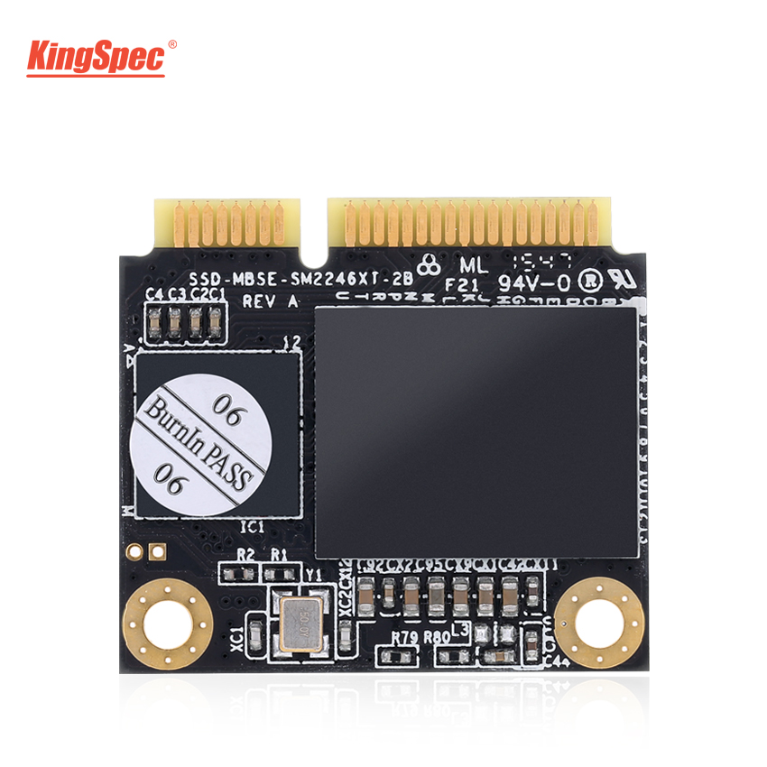 KingSpec Mini Half MSATA Internal Solid State Drive Hard Disk Module SSD 500GB/512GB For ASUS K56CM/A56C Computer Laptop Tablet