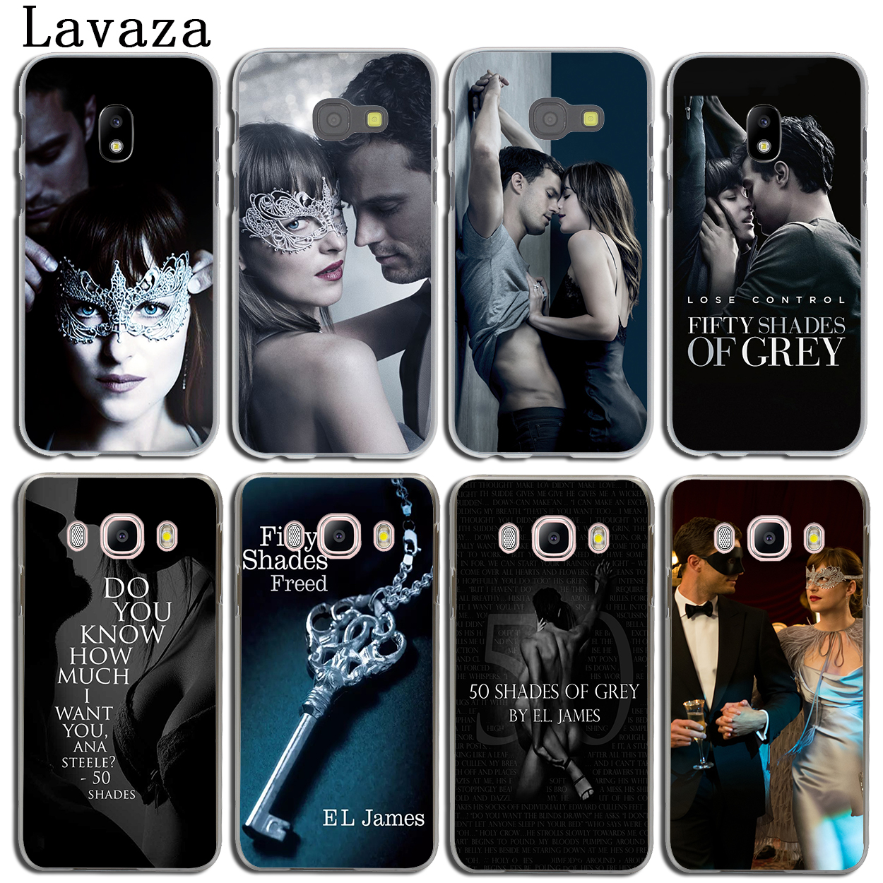 Lavaza Fifty Shades Darker of grey freed Phone Case for Samsung Galaxy J3 J1 J2 J7 J5 2015 2016 2017 J2 Pro Ace J7 J3 J5 Prime ...
