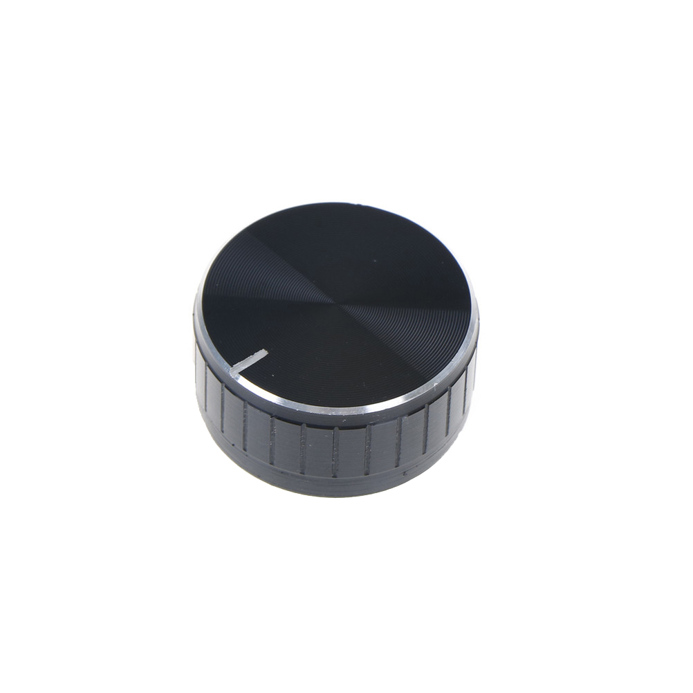 1 PCS 40*17mm Rotary Knobs Durable Volume Control Rotary Knobs Knurled Shaft Potentiometer