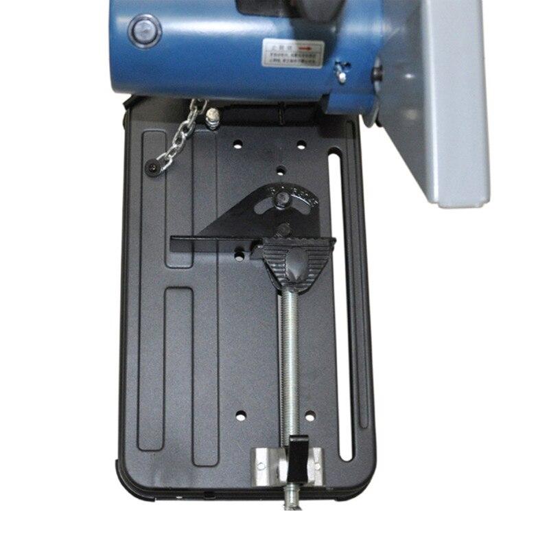 Купить с кэшбэком Profile cutting machine multifunctional steel cutting saw high power stainless steel toothless saw FF03-355
