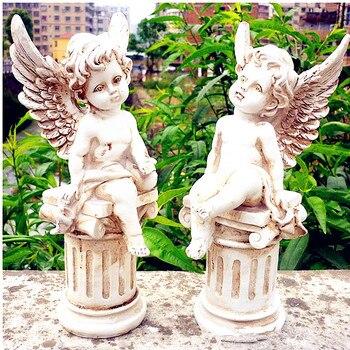 กามเทพหน้าอก Angel รูปปั้นโรมันตำนาน Amoretto ตกแต่งบ้าน