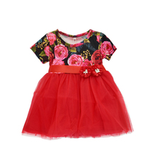 YOYOXIU Girl Baby Dress Christening Wedding Party Ball Gown Princess Children Clothes