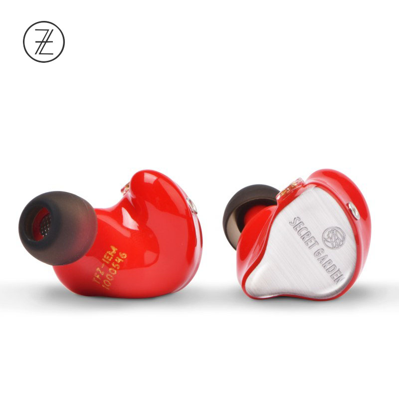 The Fragrant Zither TFZ SECRET GARDEN Dynamic In Ear Wired Earphone auricular Ear hook type headset