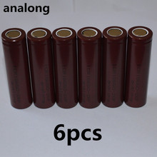 100% original analong 18650 2600mAh 18650 li-ion rechargeable battery power safe battery for ecig/scooter