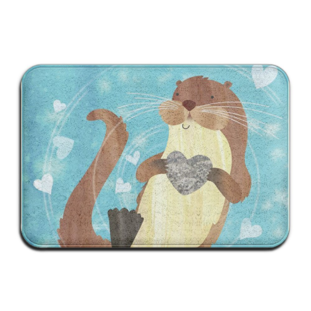 DIYABCD Otter Holding Heart Doormats Anti Slip House Garden Gate Carpet  Door Mat Floor Pads In Mat From Home U0026 Garden On Aliexpress.com | Alibaba  Group