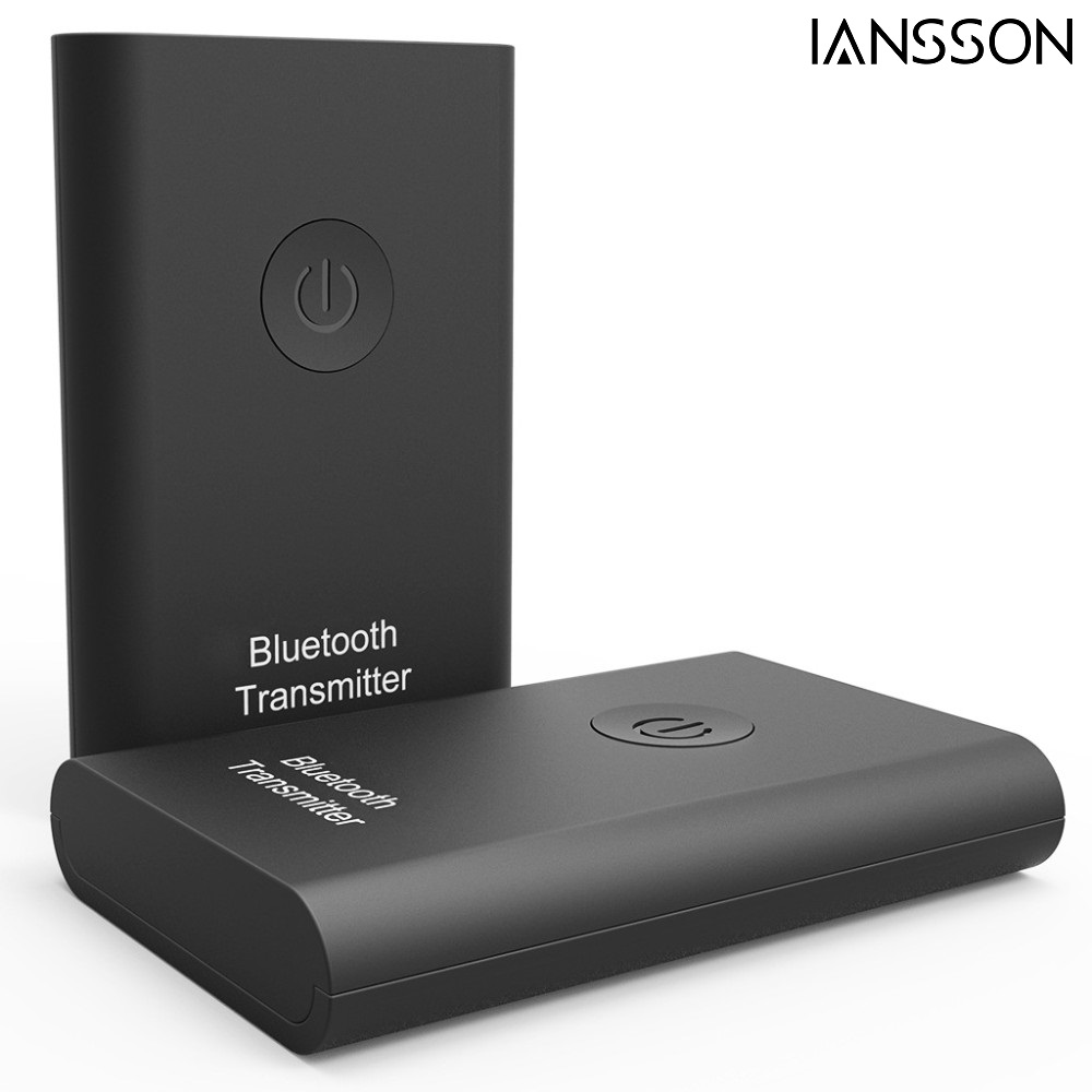 2016 New 3.5mm Wireless Audio Bluetooth Transmitter Music Stereo Dongle Adapter for TV Smart PC DVD MP3 Bluetooth 3.0 A2DP AVRCP