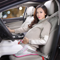 Pregnant Women Safe Car Seat Cushion Belt For Pregnant Safety Protection Positioner Soft Pad Mat Safety