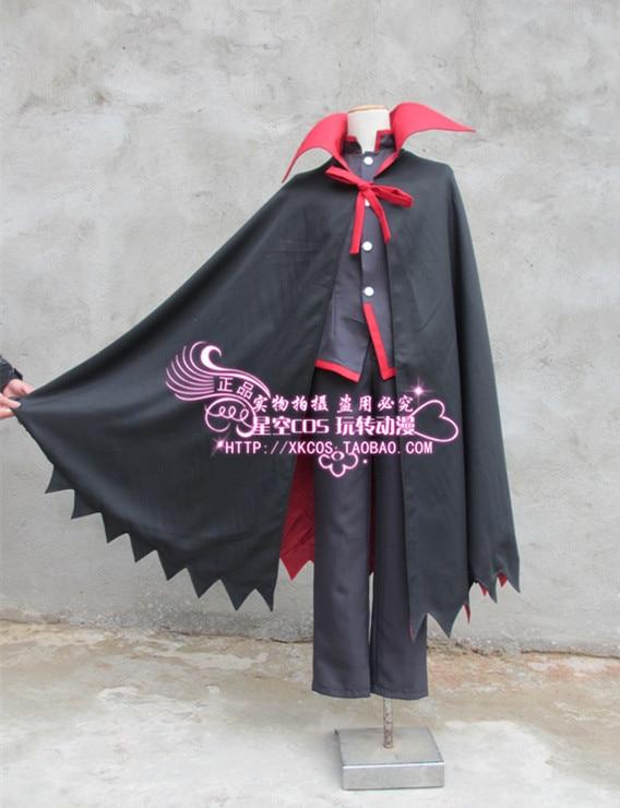 2016 Bakemonogatari Monogatari Koyomi Araragi Cosplay Costume With Cape