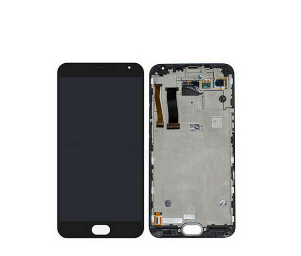 For Meizu MX5 M575M M575U Lcd Display with Touch glass Digitizer Frame Assembly replacement Pantalla parts