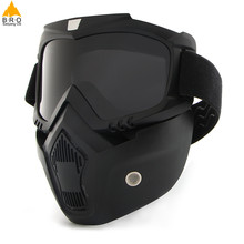 Dust-proof Cycling Bike Full Face Mask Windproof Winter Warmer Scarf Bicycle Snowboard Ski Masks with Anti-UV glasses Men Women(China)