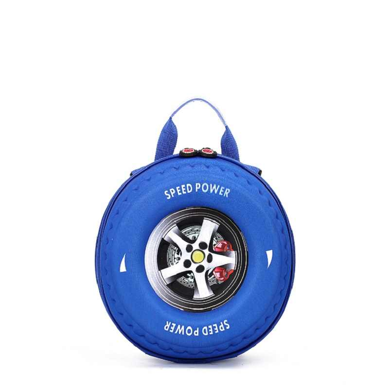 Infeylay Ontwerp Kinderen 3D Automobile Band Schooltas Mooie Cartoon Rugzak Kleuterschool 3-6 Jaar Oud Schooltas Gift Bag