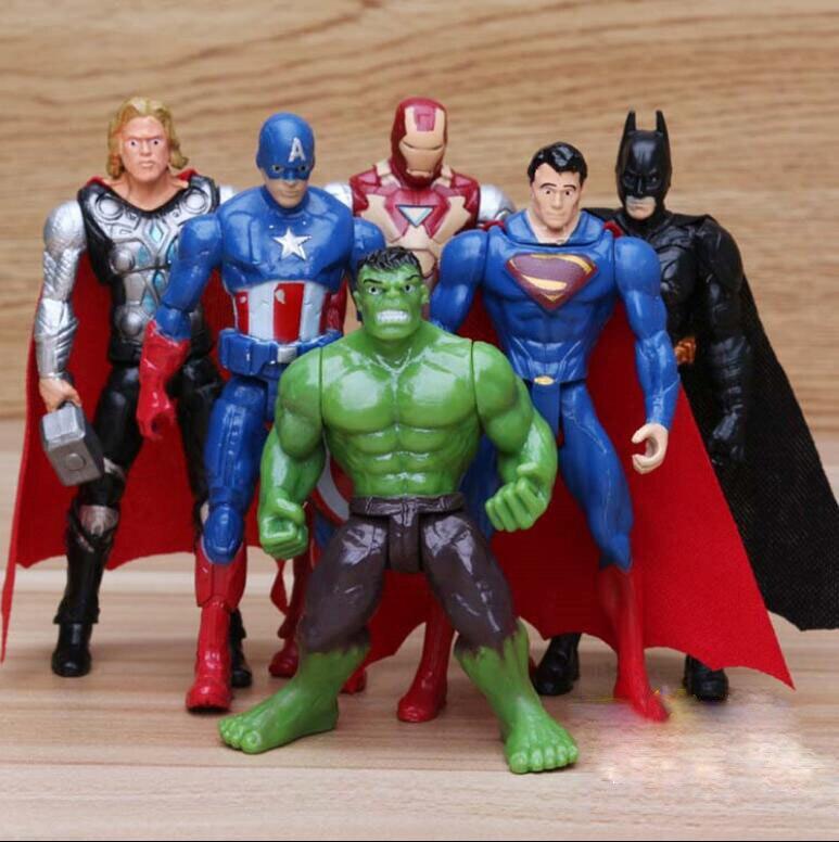 Superheld Superheld Hulk Thor Batman Figur Action Figuren Spielzeug Geschenk