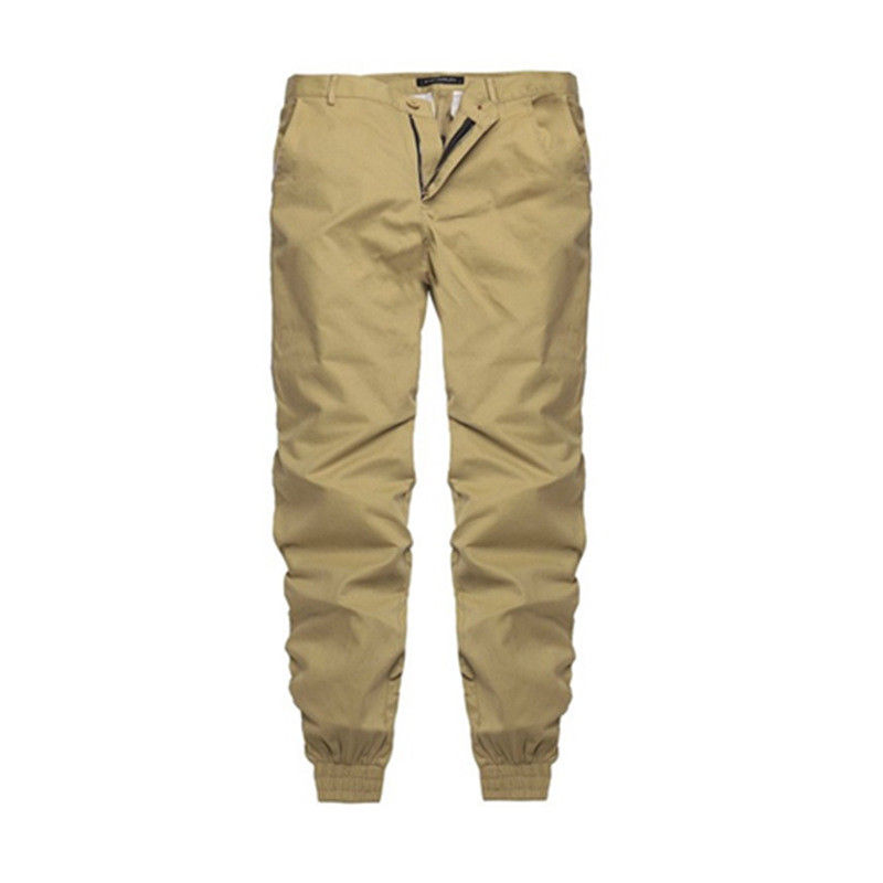 Mens Twill Jogger Pants Camping Hiking Sport Urban Trousers Harem Active Hip Hop Slim Fit USA