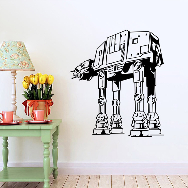 STAR WARS WALL ART STICKER Wall Decal DIY Home Decoration Wall Mural  Removable Bedroom Sticker Free Shipping