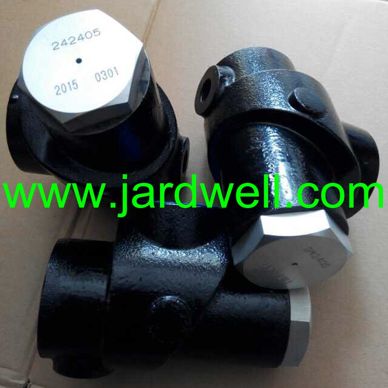Replacement air compressor spares 242405 for Sullair Pressure Valve 13mm male thread pressure relief valve for air compressor
