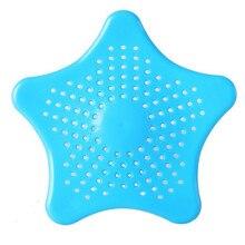 Звезда ванная комната дренажный Ловец волос Ванна Пробка раковина ситечко фильтр Душ сетка фильтрующее устройство для удаления волос