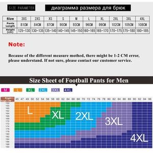Image 5 - Спортивные штаны для мужчин, спортивные Леггинсы для фитнеса, спортзала, футбола, тонкие длинные белые штаны для бега, 2019