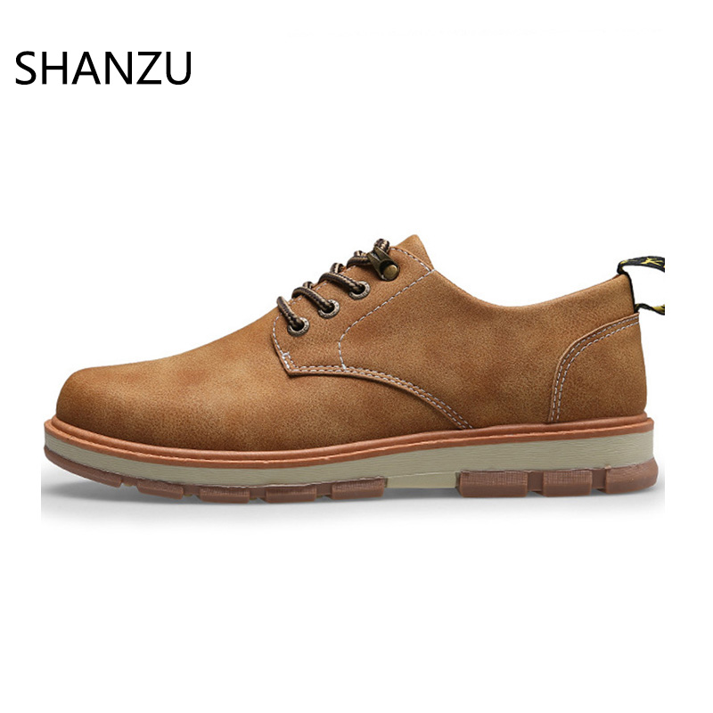 Men Derby Dress Shoes Casual Formal Shoes Male Work Safety Leather Shoes British Breathable Board Shoes Lace-up Footwear650