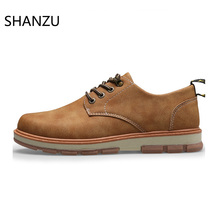 Men Derby Dress Shoes Casual Formal Shoes Male Work Safety