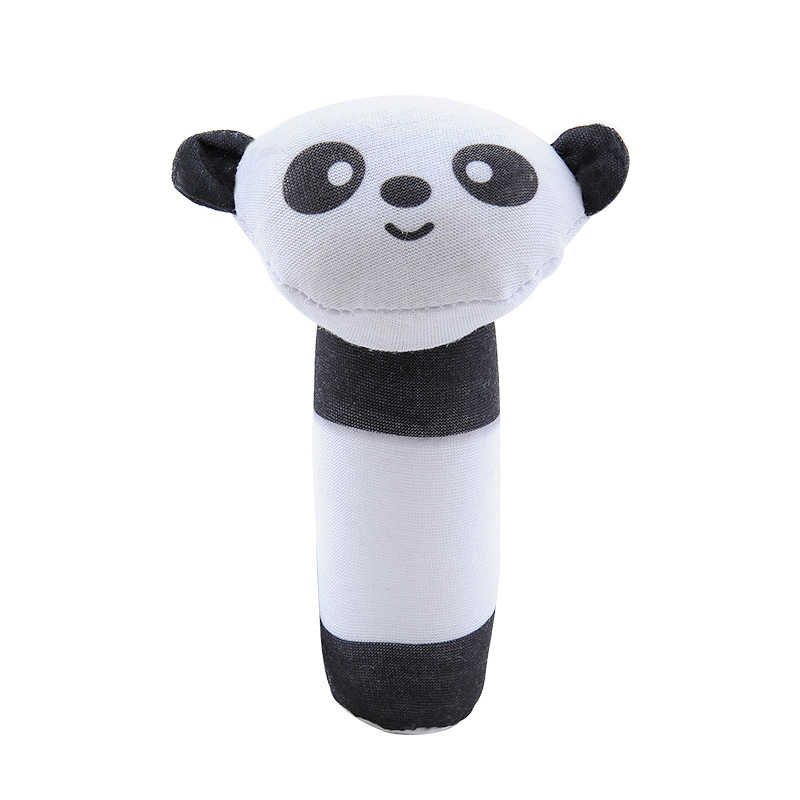 Baby Rasseln BB Sticks Weiche Kuh Plüsch Puppe Krippe Bett Hängen hand fänge Tier Spielzeug Puppe Kinder Spielzeug