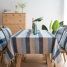 Stripe Waterproof Kitchen Table Cloth Tablecloth Rectangular Tablecloths Dining Table Cover Obrus Tafelkleed mantel mesa nappe