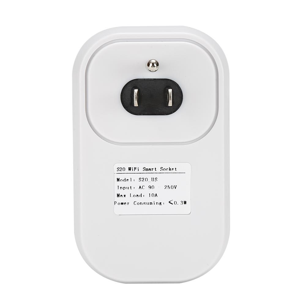 Gorący sprzedawanie Sonoff S20 Inteligentnego Domu Ładowania Adapter Bezprzewodowy Inteligentny Przełącznik BEZPRZEWODOWY Pilot Zdalnego Sterowania Gniazdo Zasilania UE/USA/UK Standard 14