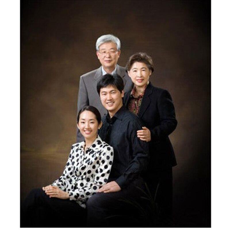 Fond de photographie de mousseline teinté Pro arrière-plan de peinture de maître ancien pour Studio de Photo de famille fait à la main personnalisé DM150