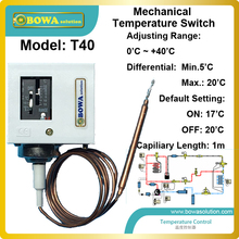 Control Water-Pump for of And Connecting 1kw Single-Phase Motor-Directly Mechanical-Temperature-Switch