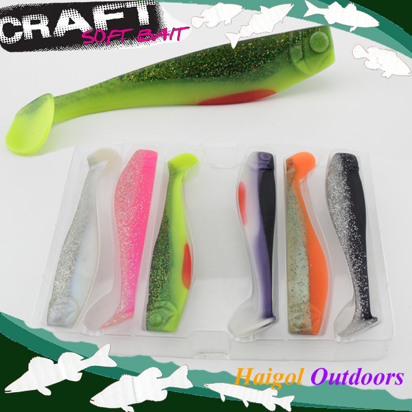 Mix color package on soft lure--15 cm shad bait soft bait for boat fishing mix color package on soft lure 15 cm shad bait soft bait for boat fishing