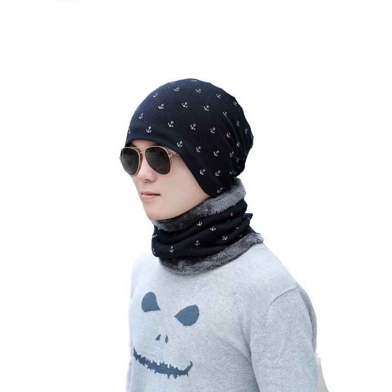 Xuyijun Neck Warmer Winter Hat Balaclava Knit Cap Scarf Cap Winter