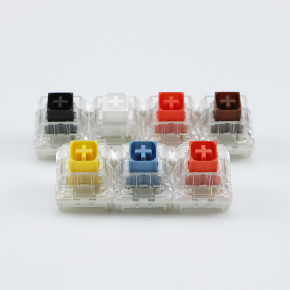 Kailh Box Switches Black Red Brown White RGB SMD Switches Dustproof Switch For Mechanical Gaming Keyboard IP56 Waterproof Mx
