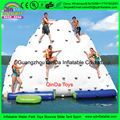 Water park inflatable water island,inflatable water obstacle course,amusement park equipment Inflatable Iceberg for funny games