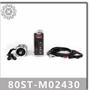 Image 1 - 80ST M02430 220V 750W AC Servoมอเตอร์ 2.39N.M. 3000RPM 0.75KW servomotor Single Phase ACไดรฟ์แม่เหล็กถาวรที่จับคู่DRIVER
