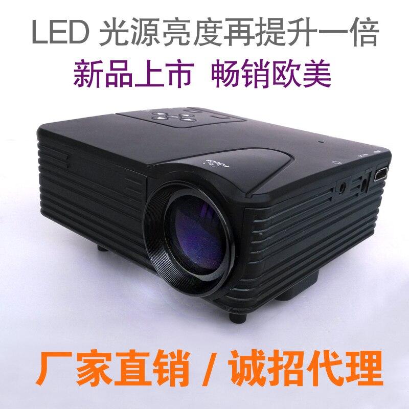Hd projector household mini led micro projector mobile for Micro projectors mini projectors