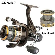 Goture Carp Fishing Reel Spinning Reel With Spare Spool 8BB 5 0 1 Dual Brake Fishing