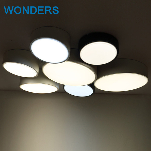 DIY Round modern led ceiling lights for bedroom balcony corridor     DIY Round modern led ceiling lights for bedroom balcony corridor wall ceiling  light lamp fixture lighting