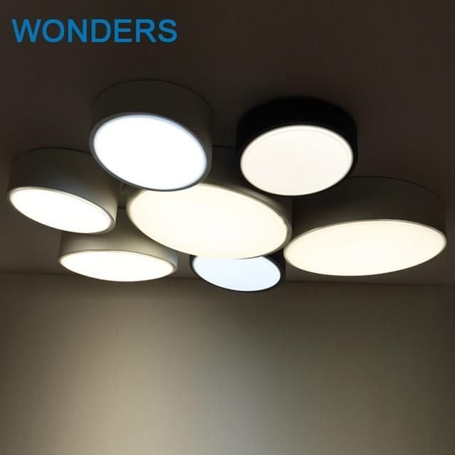 DIY Runde Moderne Led Deckenleuchten Für Schlafzimmer Balkon Flur Wand  Deckenleuchte Lampe Leuchte Beleuchtung Lamparas