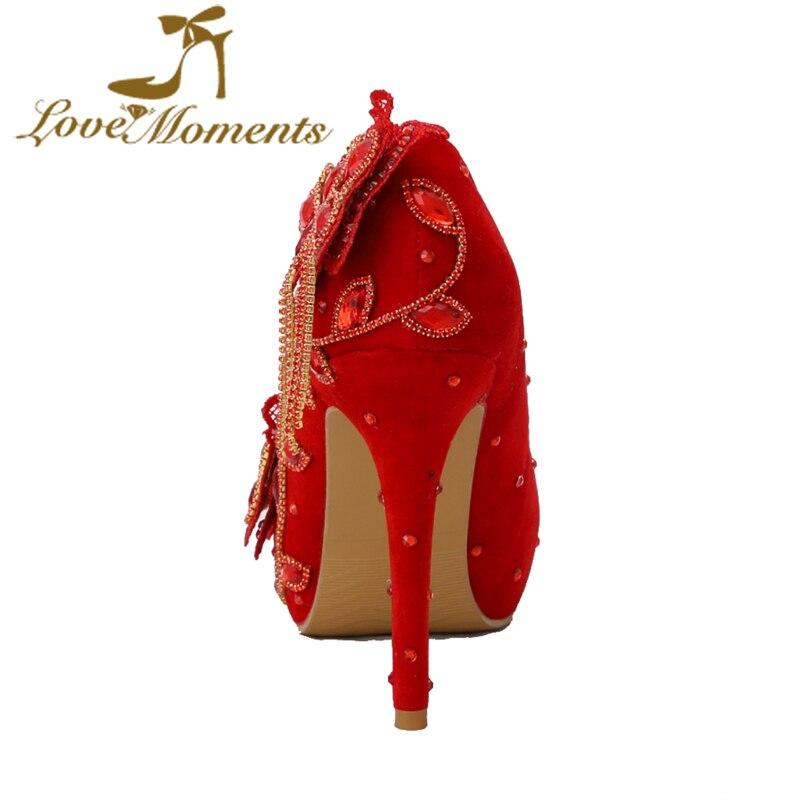 Rouge Femme De Mariage Danse Femmes 8cm Robe Heels 11cm Pompes Cristal Chaussures Grand Heels Mariée Moments D'amour Heels 14cm Pour Partie Hauts Taille Talons xzA0It6wq
