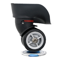 1PCS Heavy Duty Swivel Wheel Casters Furniture Hardware Universal Rolling Rollers Wheel Aircraft Trolley Luggage Accessories