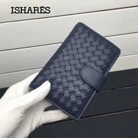 ISHARES New Fashion Genuine sheep Leather Women's Wallets Lambskin Classic Purses With Coin Pocket Medium style Wallets IS1346