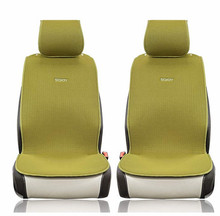 STOCK SOJOY ISOTOWEL CAR SEAT CUSHION 2FRONT SEATS ANTI SLIP FOR BREATHABLE MATERIAL FOUR SEASON CUSHIONS