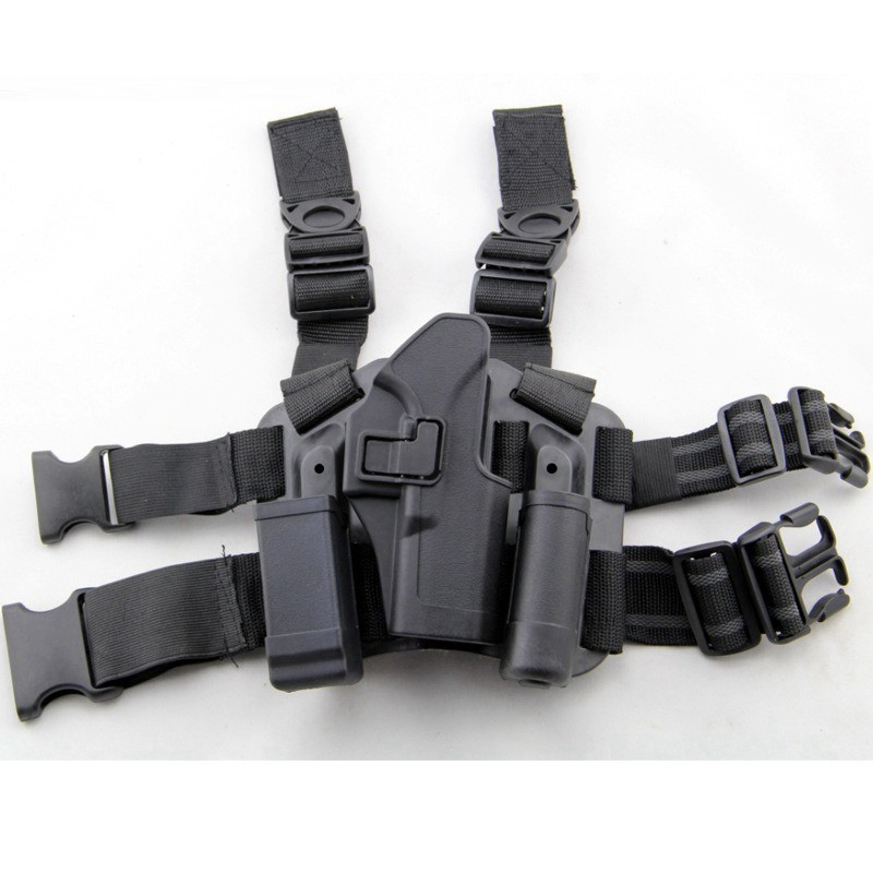 Tactical Right Leg Thigh Holster / Magazine Glock үшін Арналған Қақпақ 17 19 22 23 31 32
