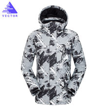 купить Ski Jackets Men Winter Warm Windproof Waterproof Outdoor Sports Snow Jackets Hot Ski Equipment Snowboard Jacket Men Brand дешево