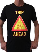 Trip T-Shirt UV Blacklight Festival Psychedelic Trance Goa Hofmann Bicycle Psy Cartoon Print Short Sleeve T Shirt Free Shipping