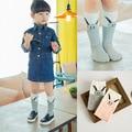 Cute Baby Socks Rabbit Cartoon Long Socks for Girls Clothing Vintage Cotton Kids Socks