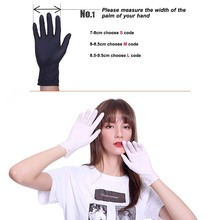 100pcs PVC/Nitrile/Latex Gloves Disposable Gloves For Home Cleaning Rubber Medical Glove for work/Laboratory/Garden S/M/L