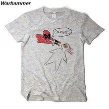 Deadpool Men T shirt Marvel's Fan Fashion Summer 3D Print O-neck Big Yard Cotton Pattern Short Sleeve Tee Shirt Homme XXL Tshirt