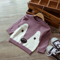 Knitting Patterns Baby Girls Boys Autumn Sweaters Jongens Trui Warm Girl Clothes Animal Cartoon Kids Pullover Sweater 60J081