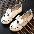 2017 ano novo crianças meninas shoes bebê recorte verão shoes bow tie crianças ballet shoes respirável princesa shoes